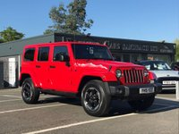 USED 2015 15 JEEP WRANGLER 2.8 CRD X UNLIMITED 4d AUTO 197 BHP