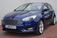 2015 FORD FOCUS 1.0 TITANIUM X 5d 124 BHP £10995.00