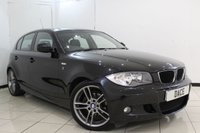 USED 2011 11 BMW 1 SERIES 2.0 116D PERFORMANCE EDITION 5DR 114 BHP HALF LEATHER SEATS + MULTI FUNCTION WHEEL + AIR CONDITIONING + RADIO/CD + AUXILIARY PORT + ELECTRIC WINDOWS + 18 INCH ALLOY WHEELS