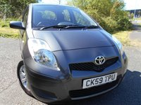 USED 2009 59 TOYOTA YARIS 1.3 TR VVT-I 5d 99 BHP ** 1 OWNER CAR , YES WITH ONLY 56K **