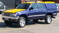 2001 TOYOTA HI-LUX 2.4 TD 4 X 4 EX 1 OWNER F/S/H 13 SERVICE STAMPS 2 KEYS \ FREE 12 MONTHS WARRANTY COVER \ £7490.00