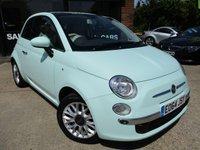 2014 FIAT 500 1.2 LOUNGE 3d 69 BHP £6500.00