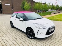 USED 2011 60 CITROEN DS3 1.6 BLACK AND WHITE 3d 120 BHP