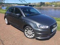 2015 AUDI A1 1.4 SPORTBACK TFSI S LINE 5d AUTO 148 BHP £SOLD
