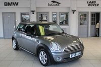 USED 2010 59 MINI HATCH ONE 1.4 ONE GRAPHITE 3d 94 BHP FANTASTIC MINI SERVICE HISTORY + BLUETOOTH + PEPPER PACK + AIR CONDITIONING + 15 INCH ALLOYS