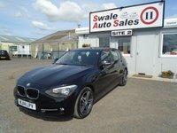2014 BMW 1 SERIES 2.0 118D SPORT 5d 141 BHP £11995.00