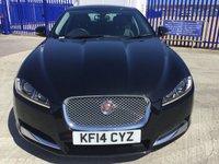 2014 JAGUAR XF 2.2 D LUXURY 4d AUTO 163 BHP £16000.00