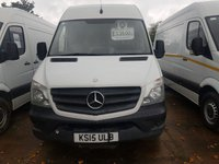 USED 2015 15 MERCEDES-BENZ SPRINTER 2.1 313 CDI MWB 1d 129 BHP ARCTIC WHITE 15 PLATE  COMPLETE WITH BEACONS ON ROOF
