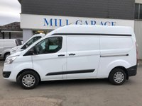 2017 FORD TRANSIT CUSTOM 2.0 290 TREND L2 H2 105 BHP 6 SPEED  £15995.00