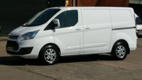 2014 FORD TRANSIT CUSTOM 2.2 270 LIMITED LR P/V 1d 124 BHP 1OWNER F/S/H 2 KEYS  £8490.00
