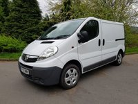 2012 VAUXHALL VIVARO 2.0 2700 CDTI 1d 115 BHP AIR CON PARKING SENSORS £6250.00