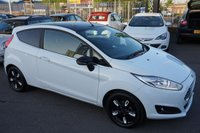 USED 2016 65 FORD FIESTA 1.2 ZETEC WHITE EDITION AUTUMN 3d 81 BHP