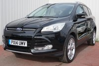 USED 2014 14 FORD KUGA 2.0 TITANIUM TDCI 2WD 5d 138 BHP DEALER FULL SERVICE HISTORY