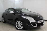 USED 2010 10 RENAULT MEGANE 1.5 I-MUSIC DCI 2DR 85 BHP BLUETOOTH + PARKING SENSOR + AUXILAIRY PORT + RADIO/CD + AIR CONDITIONING + 17 INCH ALLOY WHEELS