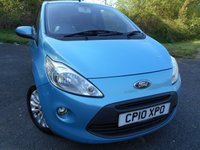 2010 FORD KA 1.2 ZETEC 3d 69 BHP    ** ZETEC EDITION , WITH ONLY 44K ** £4395.00
