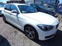USED 2012 12 BMW 1 SERIES 1.6 116I SPORT 5d 135 BHP SPORTS INTERIOR, ALLOYS , F.S.H, LOW INSURANCE