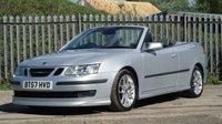 2007 SAAB 9-3 2.0 T AERO 2d 210 BHP £5150.00