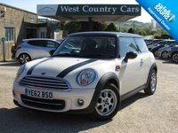 USED 2012 62 MINI HATCH COOPER 1.6 COOPER 3d 122 BHP Excellent Condition