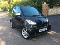 2008 SMART FORTWO 1.0 PULSE MHD 2d AUTO 71 BHP PLEASE CALL TO VIEW £SOLD