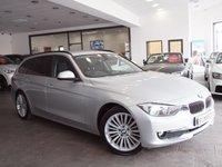 USED 2013 13 BMW 318d LUXURY  SAT NAV+HEATED LEATHER+DAB+FSH