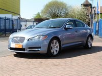 USED 2008 08 JAGUAR XF 2.7 PREMIUM LUXURY V6 4d AUTO  JAG HISTORY ~ SAT NAV ~ HEATED MEMORY LEATHER ~ BLUETOOTH ~ CRUISE ~ CLIMATE ~ KEYLESS ENTRY