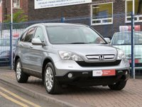 USED 2007 07 HONDA CR-V 2.2 I-CTDI EX 5d  TOP OF THE RANGE MODEL ~ PANORAMIC ROOF ~ SAT NAV ~ HEATED LEATHER ~ BLUETOOTH ~ CRUISE CONTROL ~ REAR CAMERA