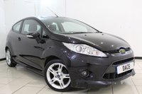 USED 2010 60 FORD FIESTA 1.6 ZETEC S TDCI 3DR 94 BHP AIR CONDITIONING + MULTI FUNCTION WHEEL + RADIO/CD + ELECTRIC WINDOWS + 16 INCH ALLOY WHEELS