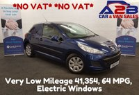 2010 PEUGEOT 207 1.4 HDI 70 BHP Very **NO VAT**  low Mileage 43,354, 64 MPG £3780.00