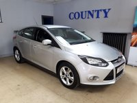 USED 2011 11 FORD FOCUS 1.6 ZETEC 5d 124 BHP * SERVICE HISTORY * LONG MOT *