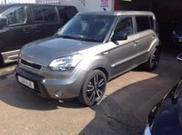 USED 2011 11 KIA SOUL 1.6 TEMPEST CRDI 5d AUTO 127 BHP Diesel, automatic, 520000 miles, outstanding.