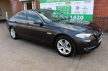 2013 BMW 5 SERIES 520D EFFICIENTDYNAMICS £10299.00
