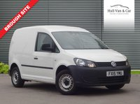 USED 2015 15 VOLKSWAGEN CADDY 1.6 C20 TDI STARTLINE 1d 74 BHP ONE OWNER, VERY LOW MILEAGE