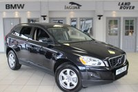 USED 2010 59 VOLVO XC60 2.4 D5 SE AWD 5d 205 BHP FULL BLACK LEATHER SEATS + FULL SERVICE HISTORY + 17 INCH ALLOYS + CRUISE CONTROL + DRIVERS SEATS MEMORY + AIR CONDITIONING