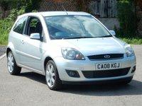 2008 FORD FIESTA 1.4 ZETEC BLUE TDCI 3d 68 BHP £2295.00