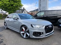 USED 2018 18 AUDI RS4 AVANT 2.9 TFSI Carbon Edition Avant Tiptronic Quattro 5dr++COST 80k++HUGE SPECIFICATION+++++