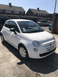2012 FIAT 500 1.2 POP 3d 69 BHP £5095.00