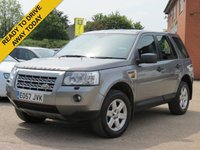 USED 2007 57 LAND ROVER FREELANDER 2.2 TD4 GS 5d 159 BHP MOT UNTIL MARCH 2019, TIMING BELT CHANGED AUGUST 2017