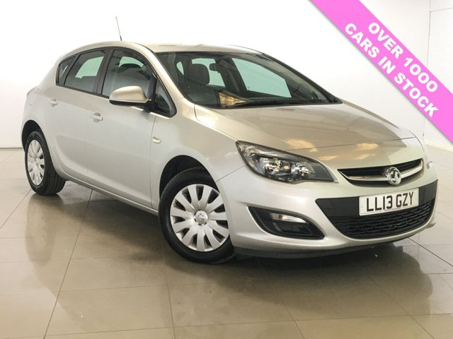 View our 2013 13 VAUXHALL ASTRA 1.4 EXCLUSIV 5d 98 BHP
