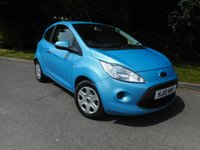 USED 2010 10 FORD KA 1.2 STYLE PLUS 3d 69 BHP *Only 14000 miles from new* £30 Road Tax*