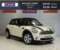 USED 2009 59 MINI HATCH COOPER 1.6 COOPER 3d 118 BHP
