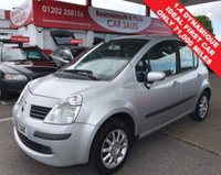 USED 2006 56 RENAULT MODUS 1.4 DYNAMIQUE 16V 5d 98 BHP **ONLY 71,000 MILES**