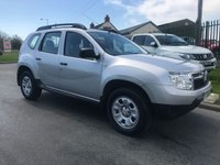 2013 DACIA DUSTER 1.5 AMBIANCE DCI 4WD 5d 0ne owner low miles fsh very clean car  £6995.00