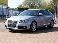 """USED 2010 AUDI A3 1.6 TDI S LINE 5d  £20 TAX ~ CLIMATE CONTROL ~ 18"""" ALLOYS ~ FULL AUDI HISTORY ~ PART LEATHER ~ TIMING BELT REPLACED"""