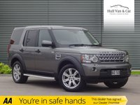 USED 2011 11 LAND ROVER DISCOVERY 3.0 4 SDV6 COMMERCIAL 1d AUTO 245 BHP COMMERCIAL, SAT NAV, LEATHER