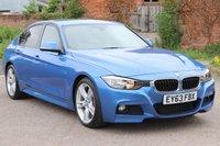 2013 BMW 3 SERIES 2.0 318D M SPORT 4d AUTO 141 BHP £14995.00