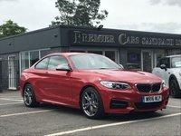 2016 BMW 2 SERIES 3.0 M235I 2d AUTO 322 BHP £22490.00