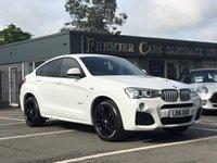 2016 BMW X4 3.0 XDRIVE30D M SPORT 4d AUTO 255 BHP £27790.00