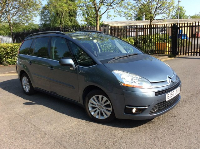2008 57 CITROEN C4 GRAND PICASSO 1.6 EXCLUSIVE HDI EGS 5d AUTO 110 BHP