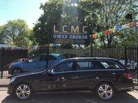 2014 MERCEDES-BENZ E CLASS 2.1 E220 CDI SE 5d AUTO 168 BHP £15499.00