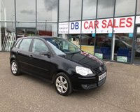 USED 2009 58 VOLKSWAGEN POLO 1.2 MATCH 5d 68 BHP NO DEPOSIT AVAILABLE, DRIVE AWAY TODAY!!